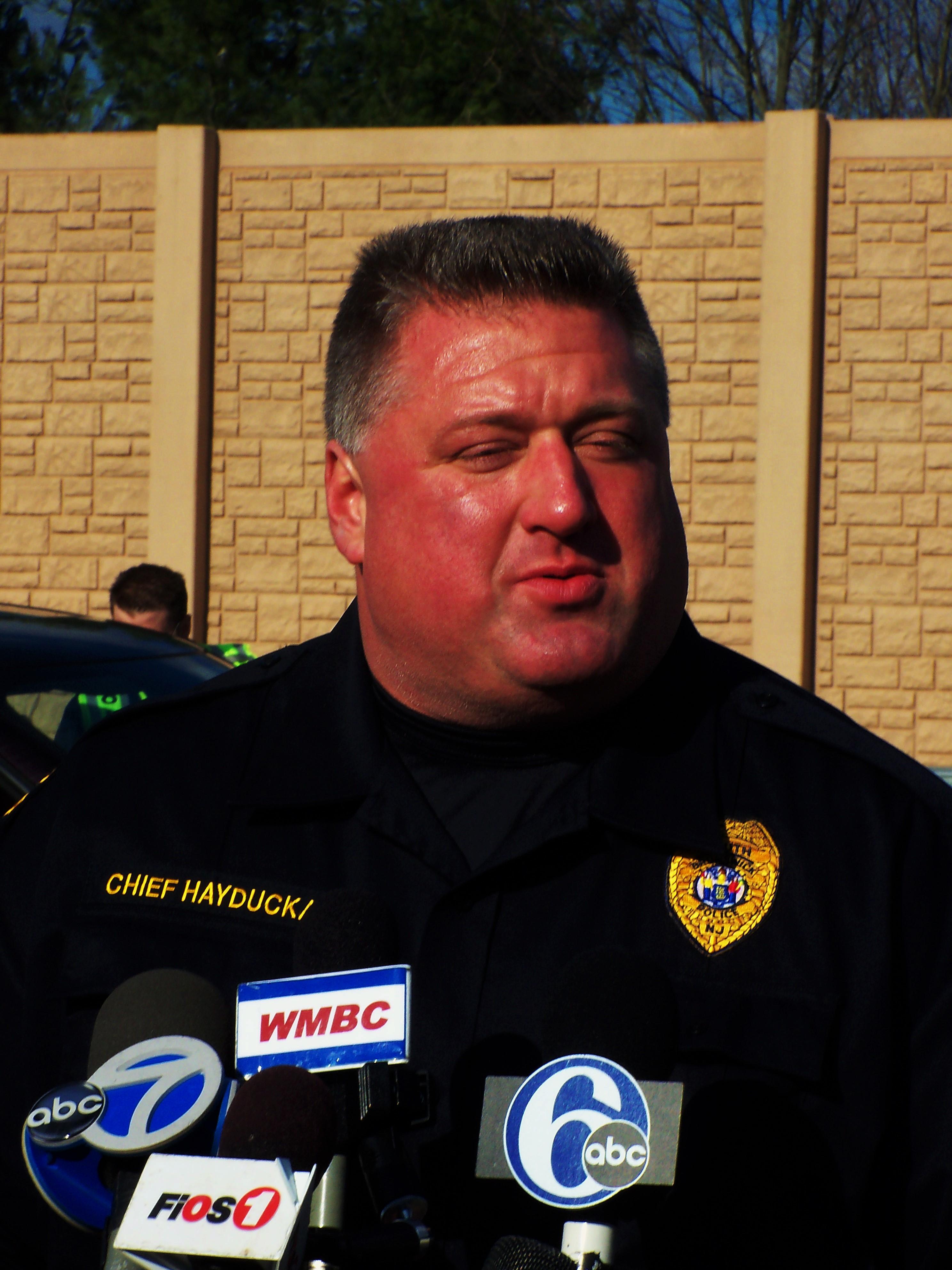 Chief Raymond Hayducka