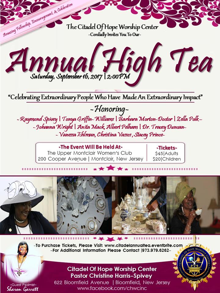 CHWC Annual High Tea