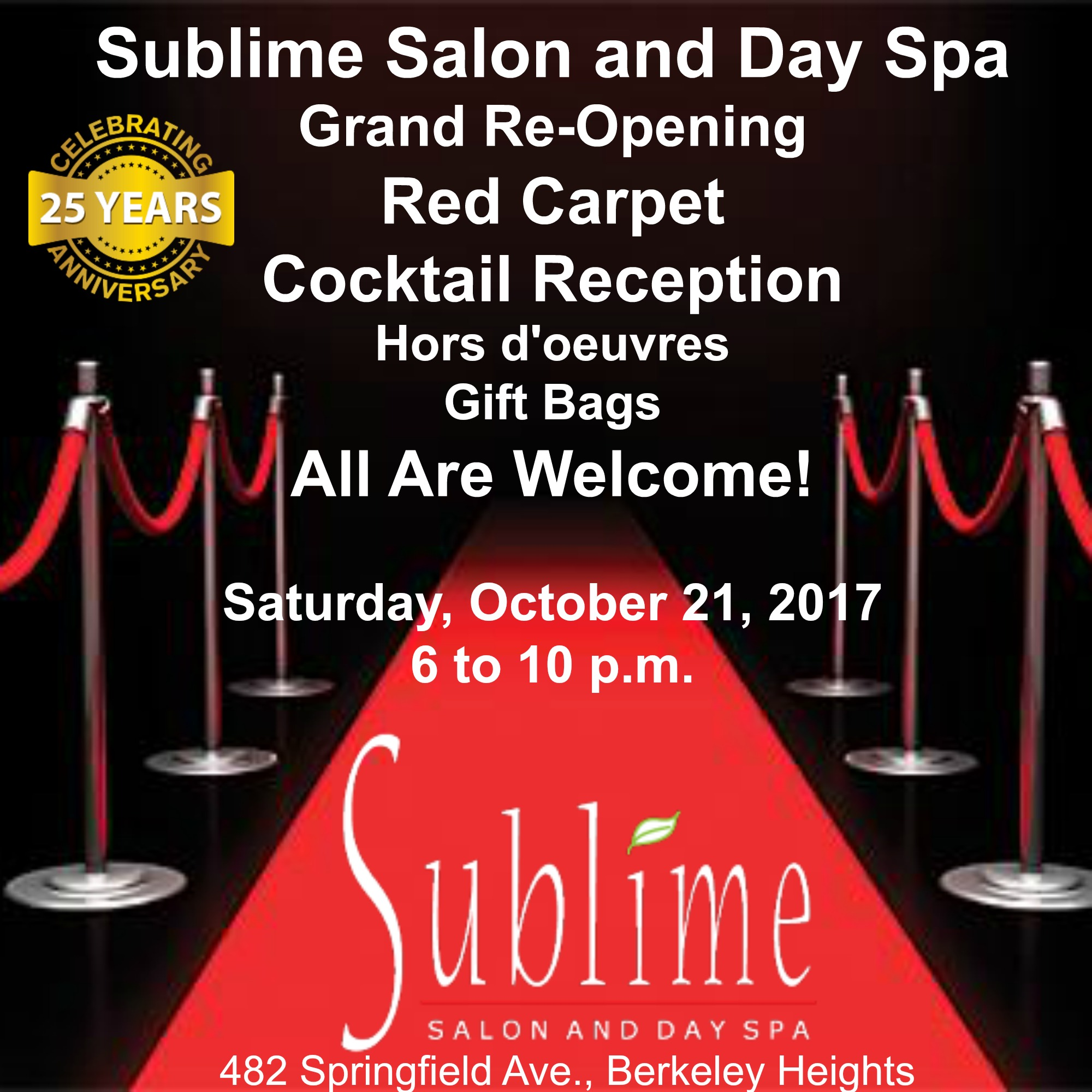 Sublime salon and day spa celebrates grand re opening with red about sublime salon and day spa the salons new home is just around the corner from its previous location at 206 sherman ave inside it is sophisticated vtopaller Images