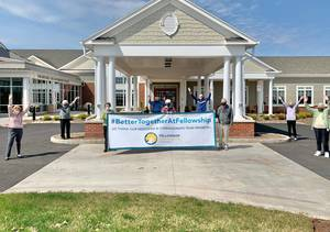 "Fellowship Village Honored Among Top Senior Living Communities in the Nation — Named ""Caring Star of 2021"" for Service Excellence"
