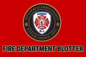 Summit Fire Department Blotter - June, 2021