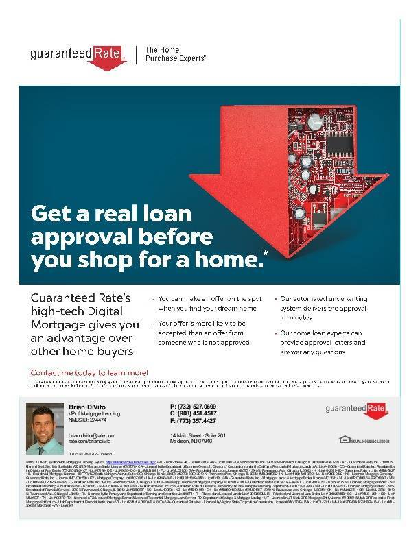 get a real loan approval before you shop for a home