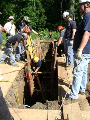 New Providence Technical Rescue Squad Drills Trench Rescue, photo 3