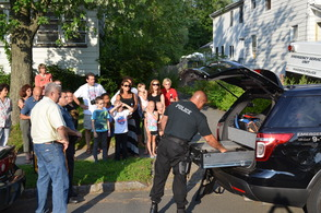 Madison Police Department Attends Block Parties, photo 7
