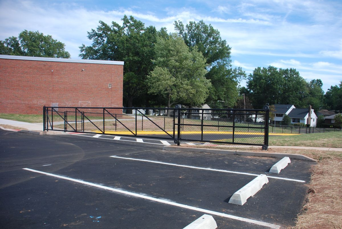 Paving the way valley road school debuts new driveway