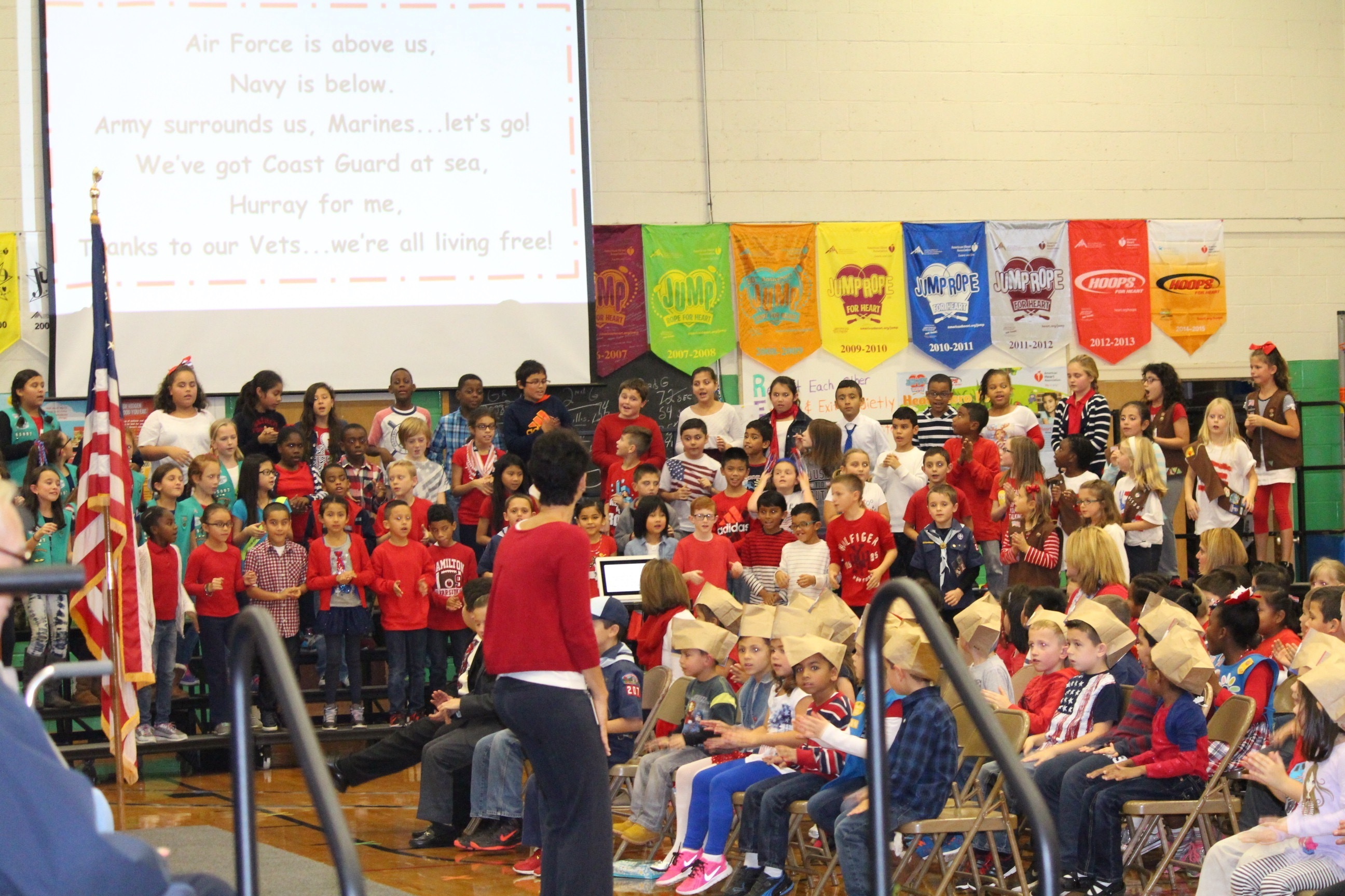 Franklin Elementary School Honors Vets Past and Present