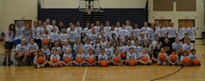 First Day of Sparta Girls Basketball Camp