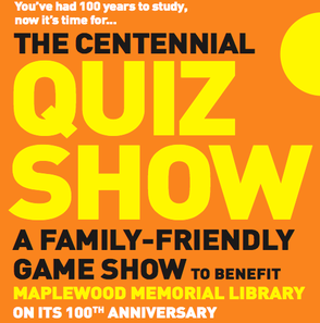 "Maplewood Library to Celebrate 100th Birthday with ""The Centennial Quiz Show"" on 5/23, photo 1"