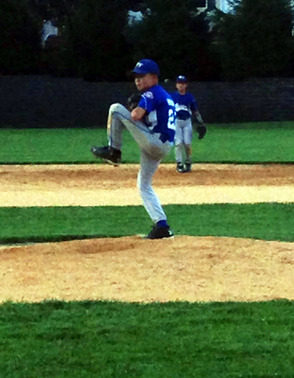 Dominic Romano on the hill