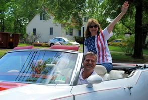 Riding in Style in the Memorial Day Parade