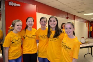 Bernards High Girls Basketball to Hold 'Gold Out' at Feb. 27 Game to Benefit Team Campbell