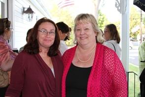 Jill Ryan and Mindy Scarlett