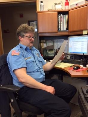 Inspector Eric Staeger
