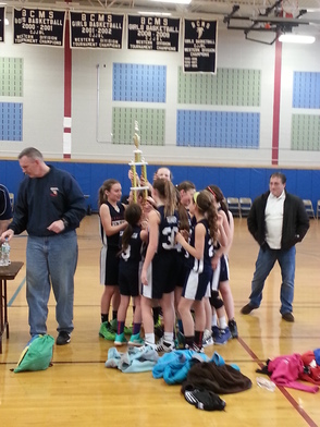 Berkeley Heights 6th Grade Girls Basketball Team Wins Branchburg March Madness Tournament, photo 4