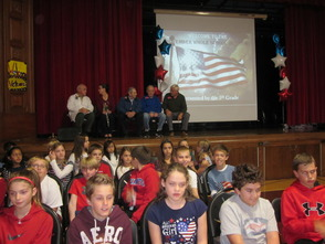 Veterans Day Honored at Center Grove Elementary School, photo 9