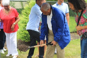Roselle Community Joins Dr. Polk Family and Plants Time Capsule, photo 27