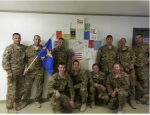 Servicemen In Afghanistan Respond To Columbia Middle School Students, photo 1