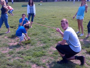Limbo Fun on Field Day