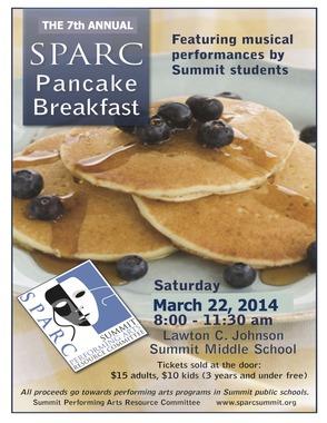SPARC Pancake Breakfast