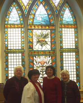 Members of Willow Grove Church share in the celebration of the 125th anniversary of Old Stone Chapel