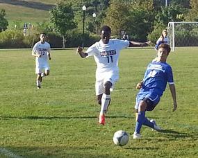 Columbia boy's soccer