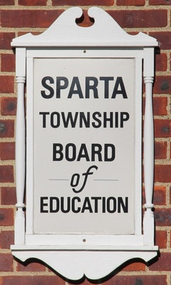 Sparta Board of Education Change of Meeting Notice, photo 1