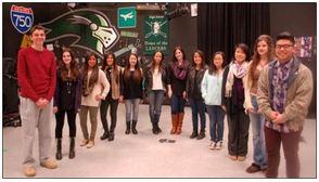 LHS Students Exhibit Art