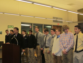 Students Honored at the Randolph Board of Education 2014 Organization Meeting, All Geared Up For The New Year, photo 4