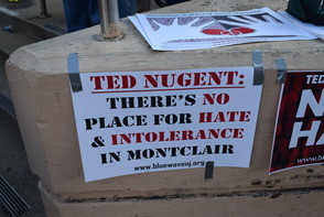 Ted Nugent Concert in Montclair Brings out Protesters and Defenders, photo 6