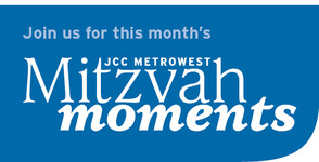 "JCC MetroWest Invites the Community to Participate in JCC MetroWest October ""Mitzvah Moments"", photo 1"