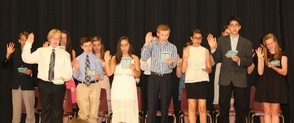 The Class of 2015 take their oath