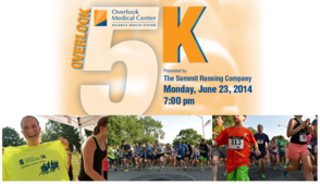 Overlook 5k Logo
