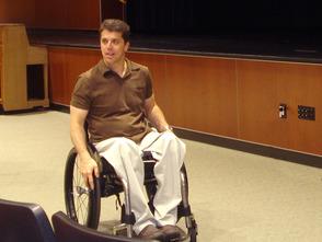 Motivational speaker Scott Chesney