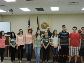 South Plainfield Summer Interns Head Back to School, photo 2
