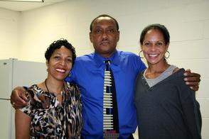 The West Orange Team-- Janine Augustus, James Scott and Jennifer Jones
