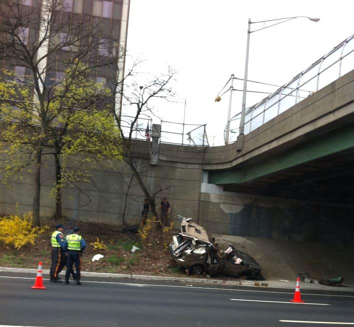serious 280 east accident thursday morning livingston nj