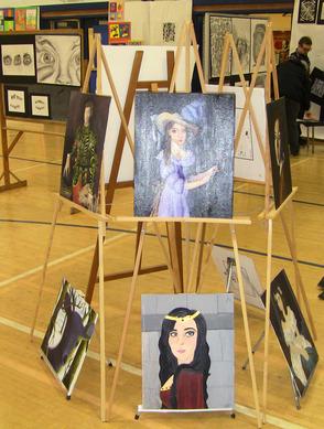 Portraits on Easels