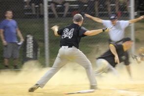 NJ Bar and Grill Strikes Back in Game 2 of Randolph Mens Softball Championship Series, photo 1