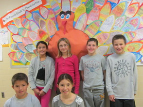 Thanksgiving Messages Shared By Mountain Park Fourth Grade , photo 1