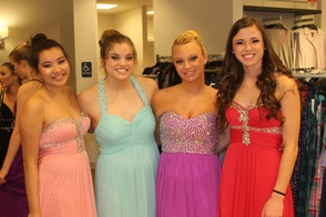Gov. Livingston Students Walk The Runway in the Macy's Prom Dress Fashion Show, photo 2