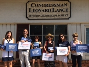 Members of the advocacy group, Moms Demand Action for Gun Sense in America