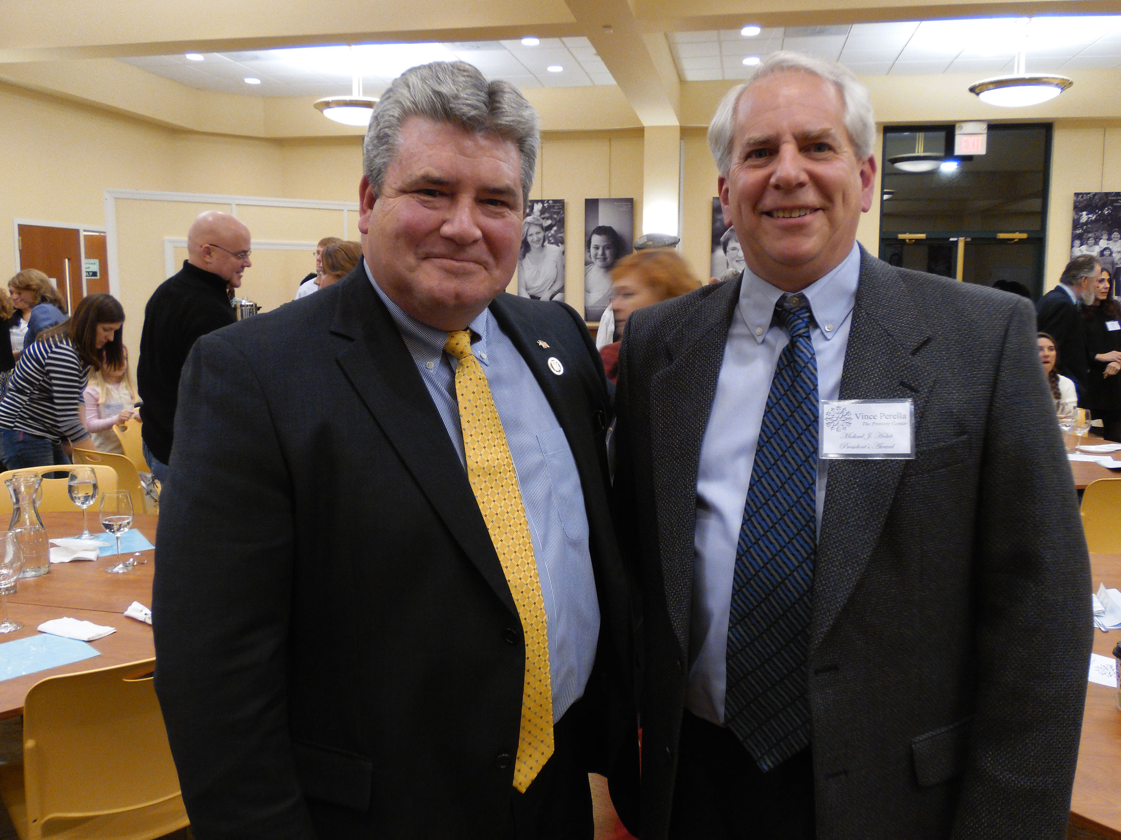 2d270476adf57e928e09Steve Oroho and Vince Perellajpg Sparta Businessman Community Volunteers Honored at