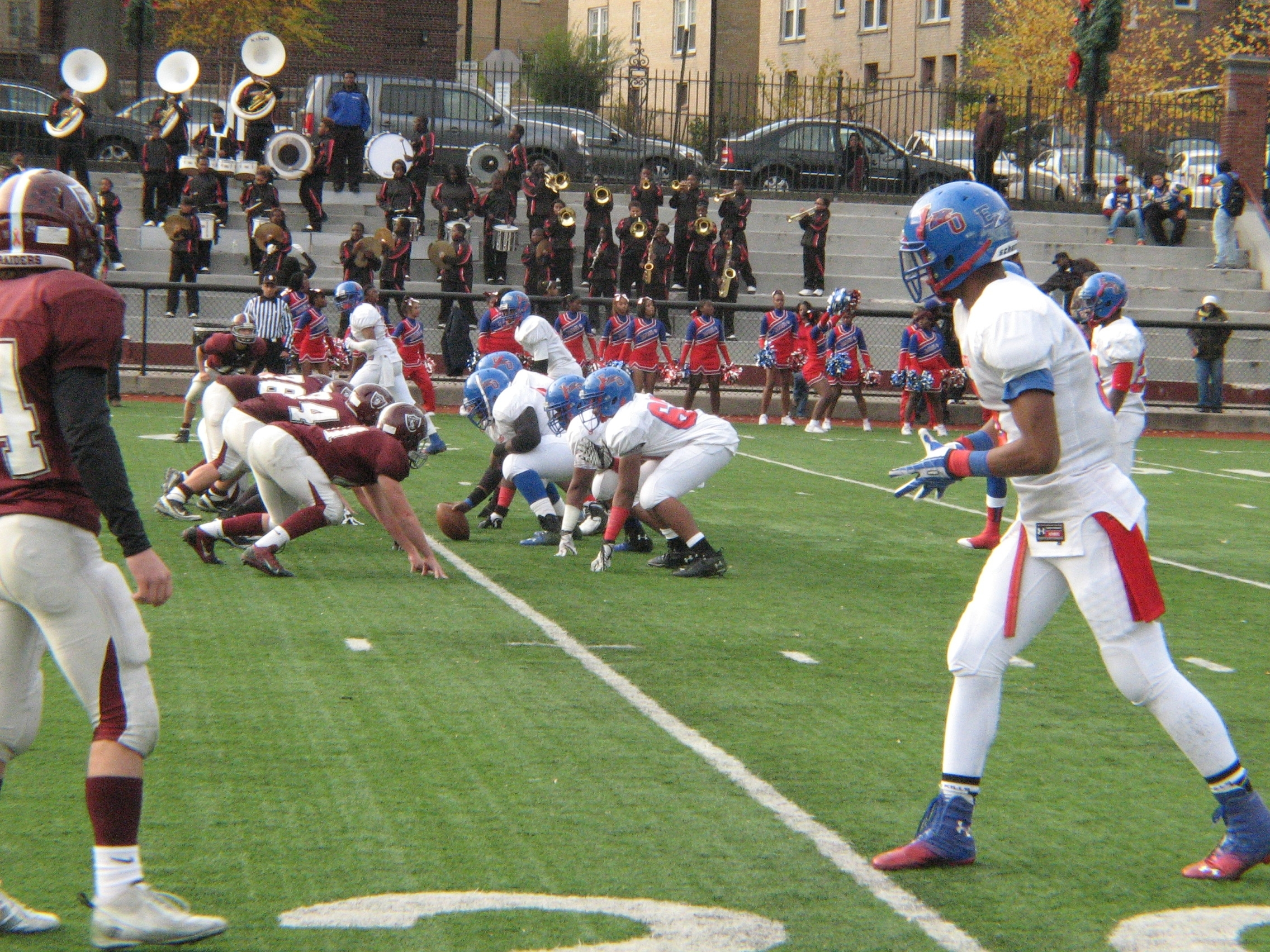 57073b9672d1582cb7abcampusfootballjpg The East Orange Barringer Thanksgiving Rivalry Continues