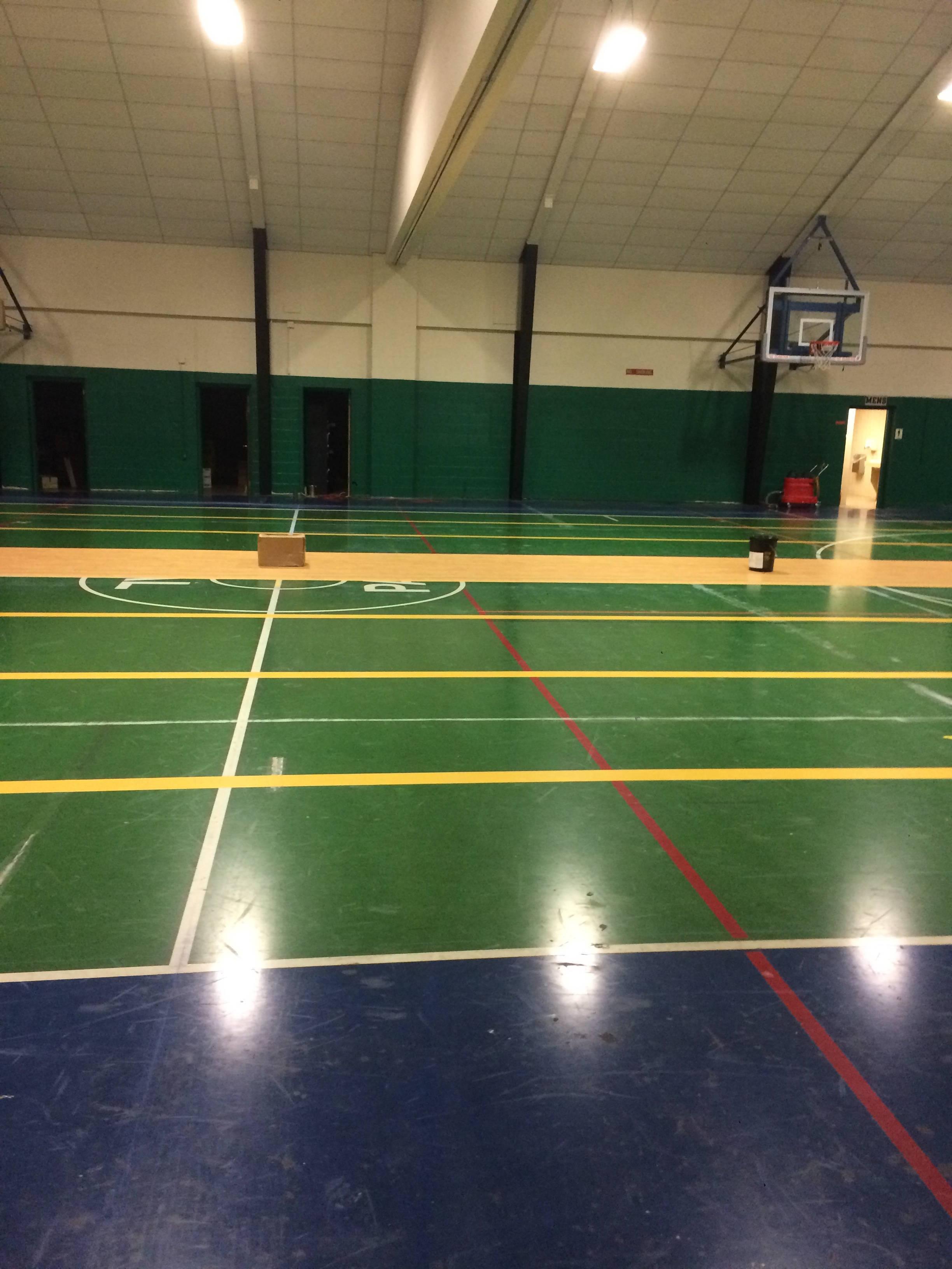 Gym at South Plainfield PAL Recreation Building Gets Major Facelift