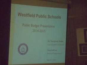 2014-2015 Budget Presentation
