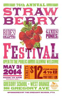Strawberry Festival to be Held at Gregory School May 31, photo 1