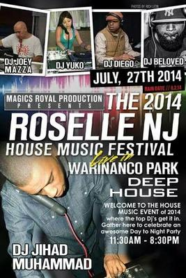 2014 Roselle House Music Festival Set for All Day Sunday, photo 1