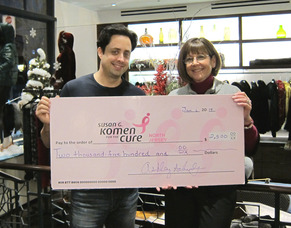 "Schultz Furrier Hosts Holiday ""Shop for the Cure"" Event to Fight Breast Cancer"