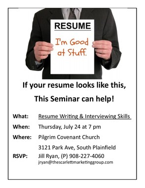 Do You Need Help Writing a Resume or With Your Interview Skills?, photo 1