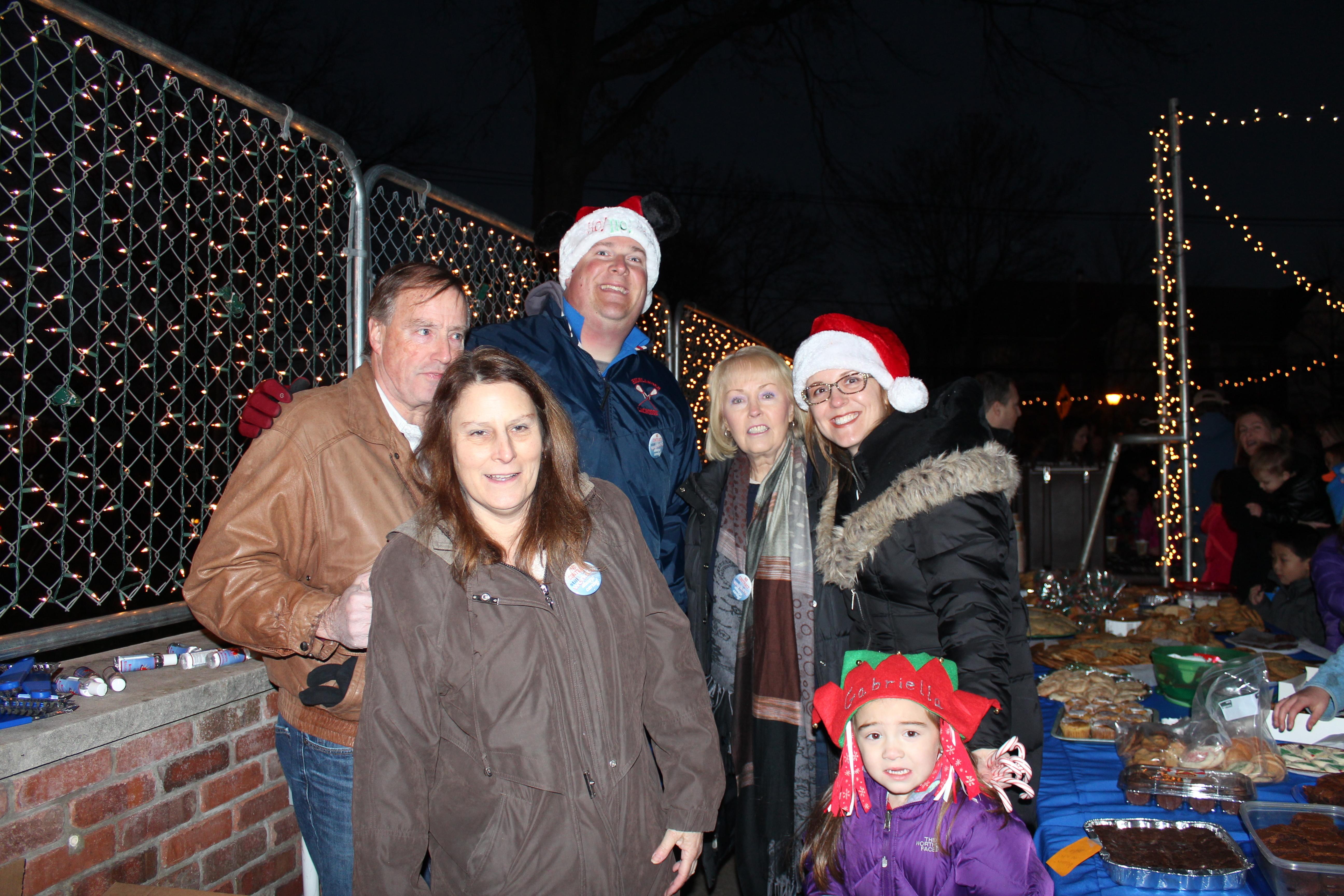 Santa, Tree Lighting and Winter Walk Draw Big Crowd to Downtown Berkeley Heights